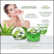 Creme Aloe Vera 98% Hidratante Aqua Facial E Corporal Gel Calmante Profit Nemawashi